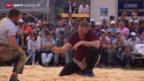 Video «Schwingen: Schwarzsee-Schwingfest in Plaffeien» abspielen