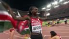 Video «LA: WM in Peking, Zusammenfassung 3000 m Steeple Frauen» abspielen