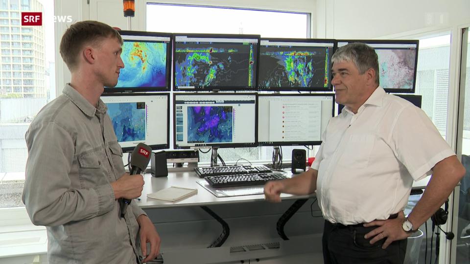 Felix Blumer: «Regenschirme werden auch in dieser Woche Hochkonjunktur haben»
