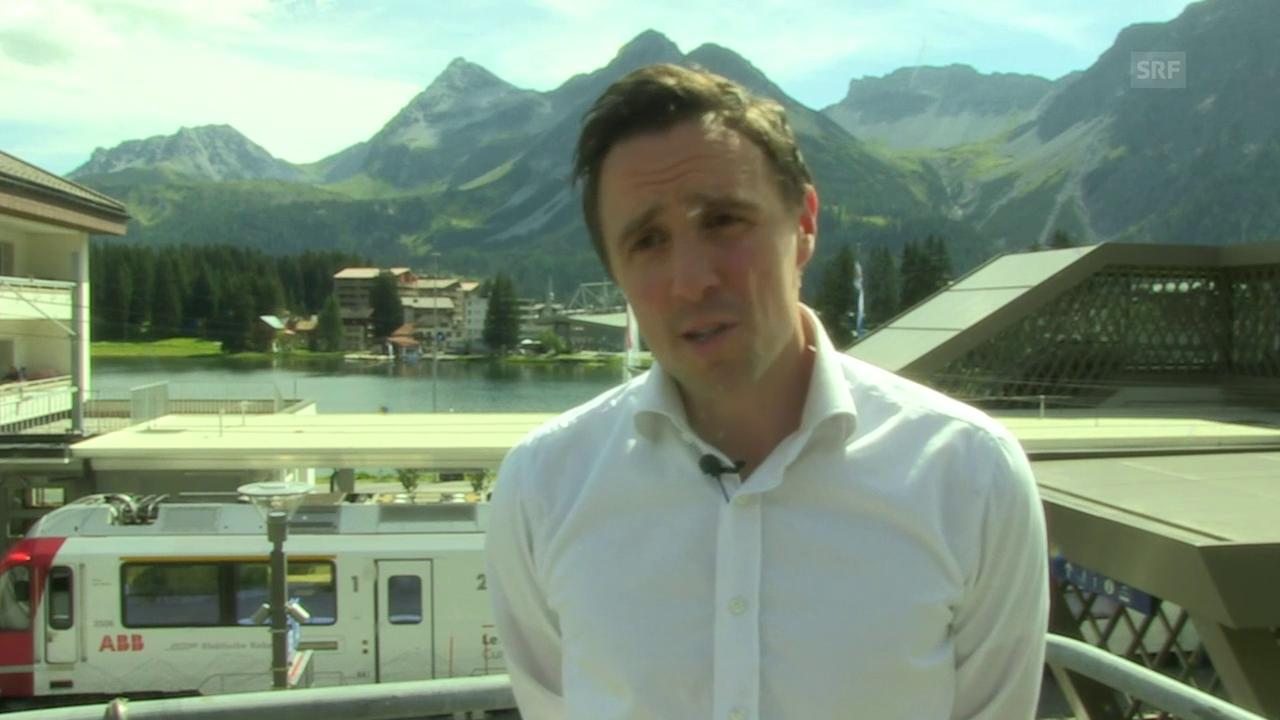 Tourismusdirektor Pascal Jenny