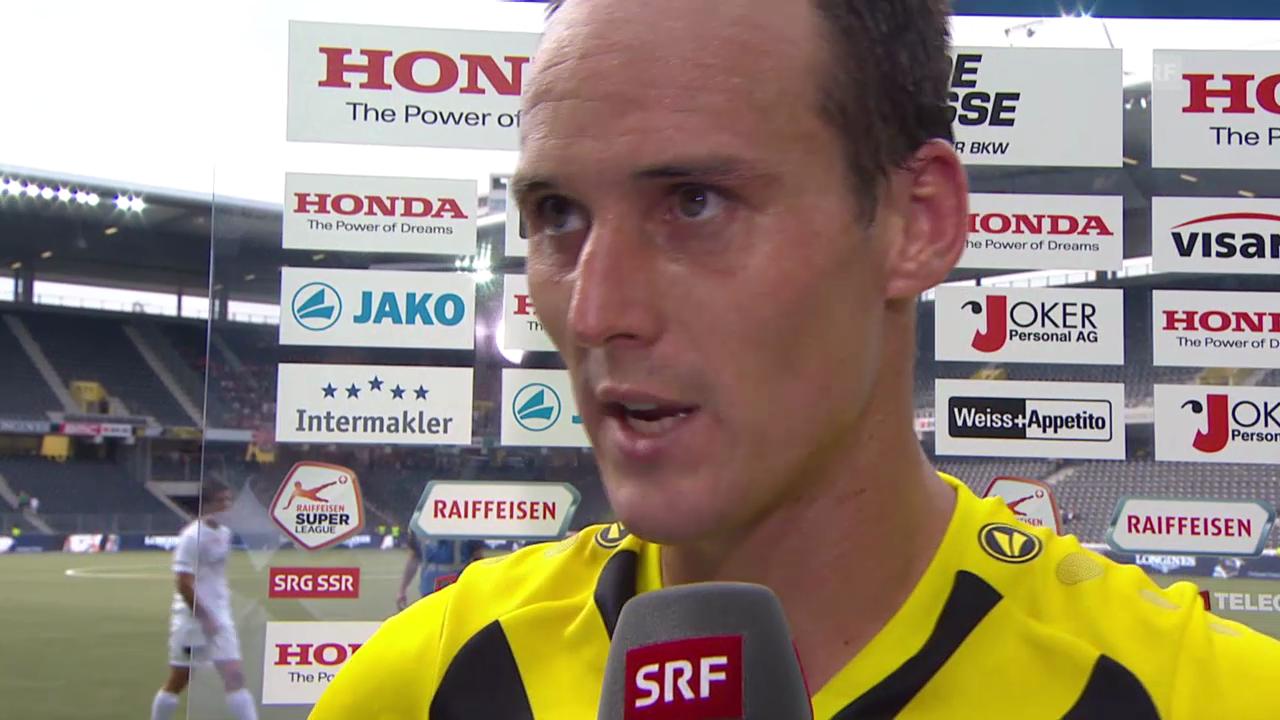 Fussball: Steven von Bergen nach seinem Comeback