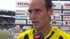 Video «Fussball: Steven von Bergen nach seinem Comeback» abspielen