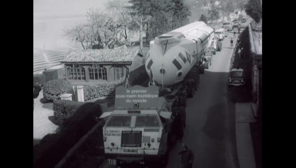 Der Abtransport - 25.03.1966 Schweizer Filmwochenschau
