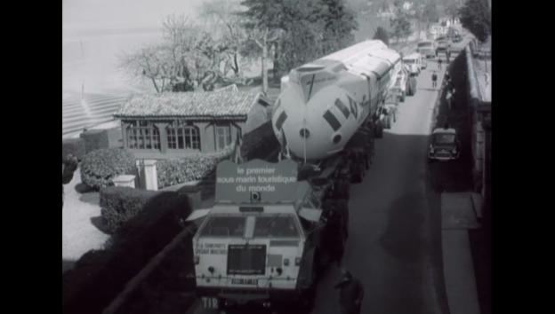 Video «Der Abtransport - 25.03.1966 Schweizer Filmwochenschau» abspielen