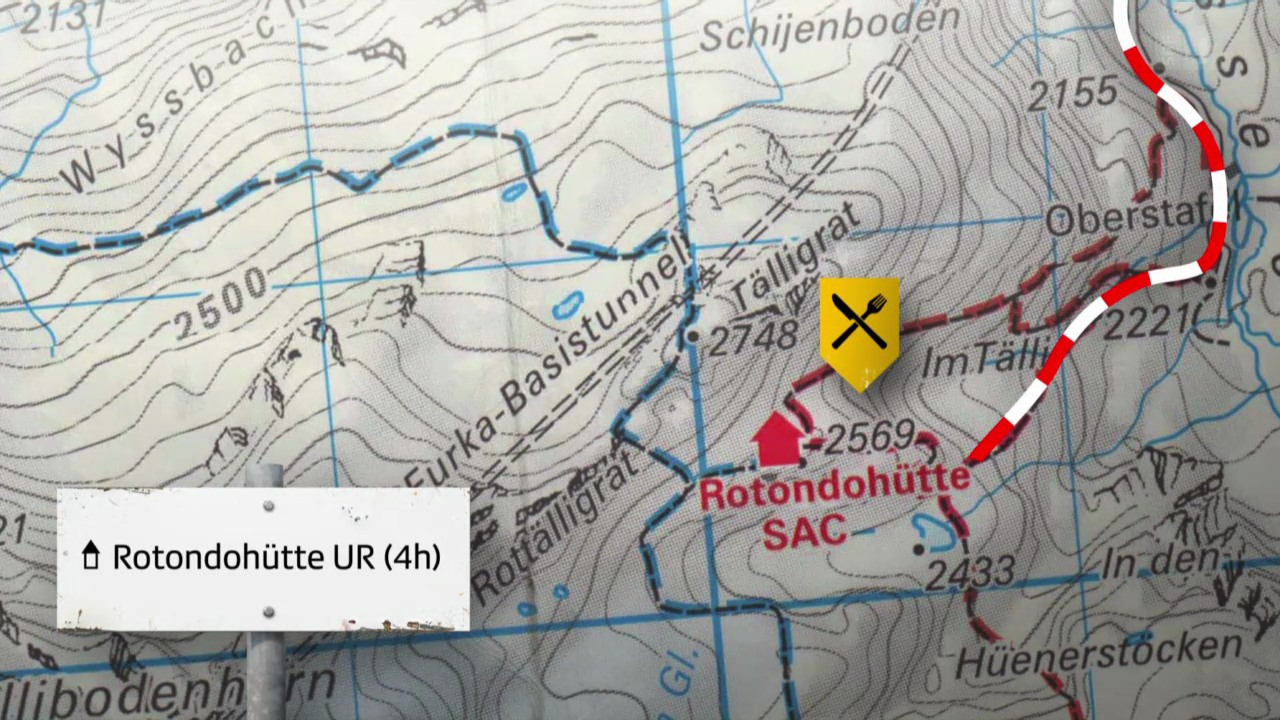Route 3: Rotondohütte UR