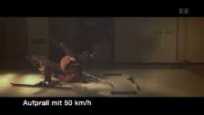 Video «Crashtest auf Ski» abspielen