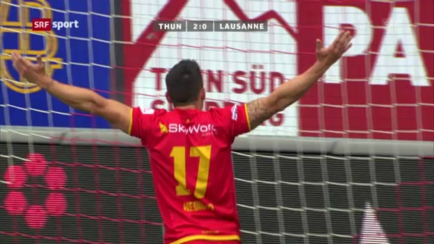 Video «SL: Thun - Lausanne» abspielen