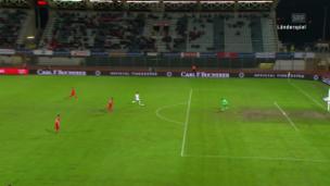 Video «Katars Afif erzielt den goldenen Treffer» abspielen