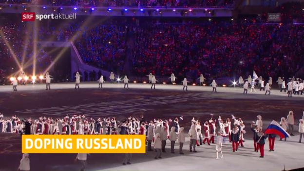 Video «Doping-Vorwürfe an Sotschi-Sieger» abspielen