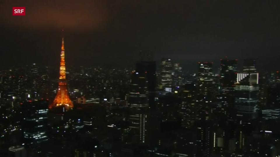 Erdbeben der Stärke 5.9 erschüttert Tokio