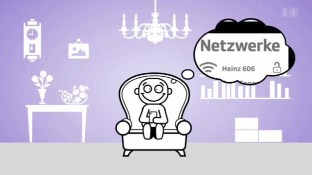 Video ««Darf man das?»: Das WLAN vom Nachbarn nutzen?» abspielen