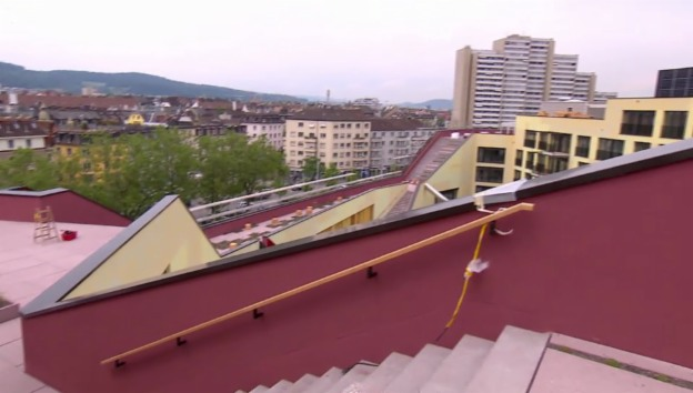 Video «Experiment Kalkbreite – ein Modell für die Stadt der Zukunft?» abspielen