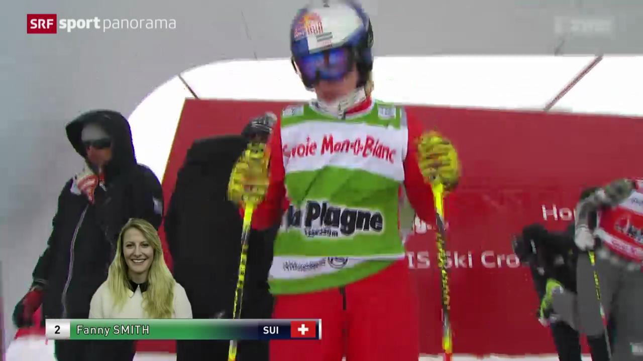 Skicross: Weltcup Frauen in La Plagne