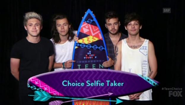 Video «Dankesrede von One Direction» abspielen