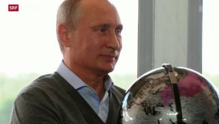 Video «Putin markiert Stärke» abspielen