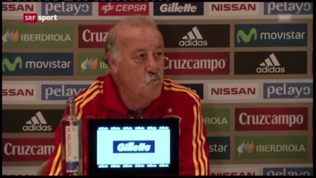 Fussball: Spanien vor dem Confed Cup («sportaktuell»)