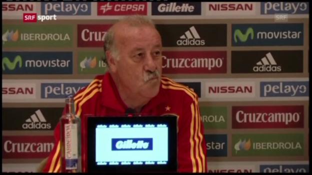 Video «Fussball: Spanien vor dem Confed Cup («sportaktuell»)» abspielen