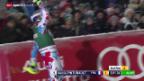 Video «Ski alpin: Männer, Superkombination von Kitzbühel» abspielen