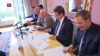 Video «SVP warnt vor «schleichendem EU-Beitritt»» abspielen