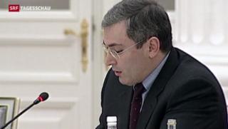 Video «Putin will Chodorkowski begnadigen» abspielen