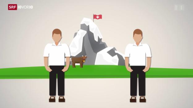 Video «Der Schweizer Pass als bestes Integrations-Mittel» abspielen