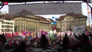 Video « Demo zum Frauentag in Bern» abspielen