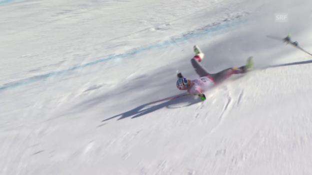Video «Ski alpin: WM in Vail/Beaver Creek, Super-G der Männer, Bode Miller» abspielen