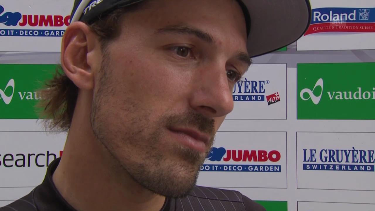 Rad: TdS, Interview mit Fabian Cancellara