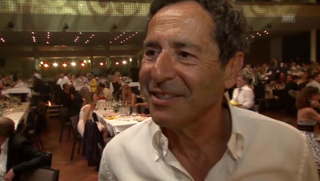 Video «Roger Schawinski über seinen 70. Geburtstag» abspielen