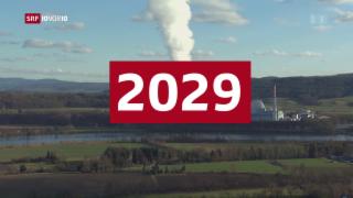Video «GFS-Umfrage: Es wird knapp bei der Atomausstiegsinitiative » abspielen