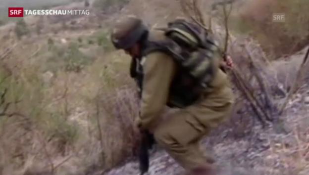 Video «Grenzgefechte zwischen Israel und Libanon» abspielen