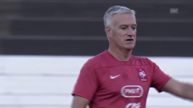 Video «Fussball: WM 2014, Vorschau Ecuador-Frankreich» abspielen