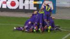 Video «Thun feiert in St. Gallen Last-Minute-Sieg» abspielen