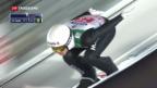 Video «Start der Vierschanzentournee in Oberstdorf» abspielen