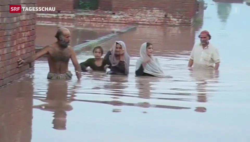 Monsun überschwemmt Indien und Pakistan