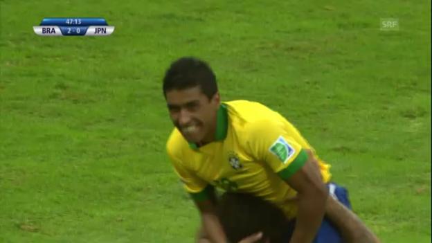 Video «Fussball: Paulinhos Tore am Confed Cup («sportlive»)» abspielen