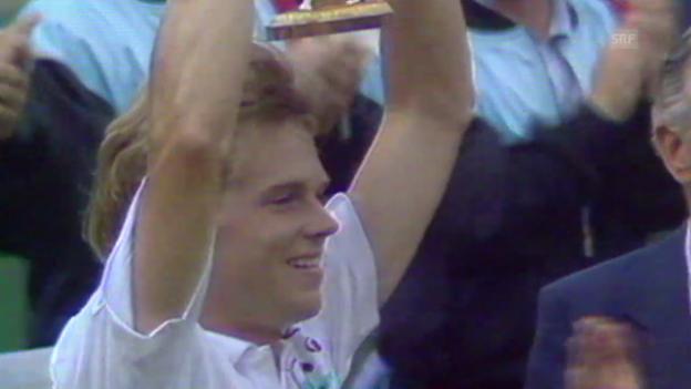 Video «Tennis: Edberg in Federers Trainerstab («sportlive», 27.12.2013)» abspielen
