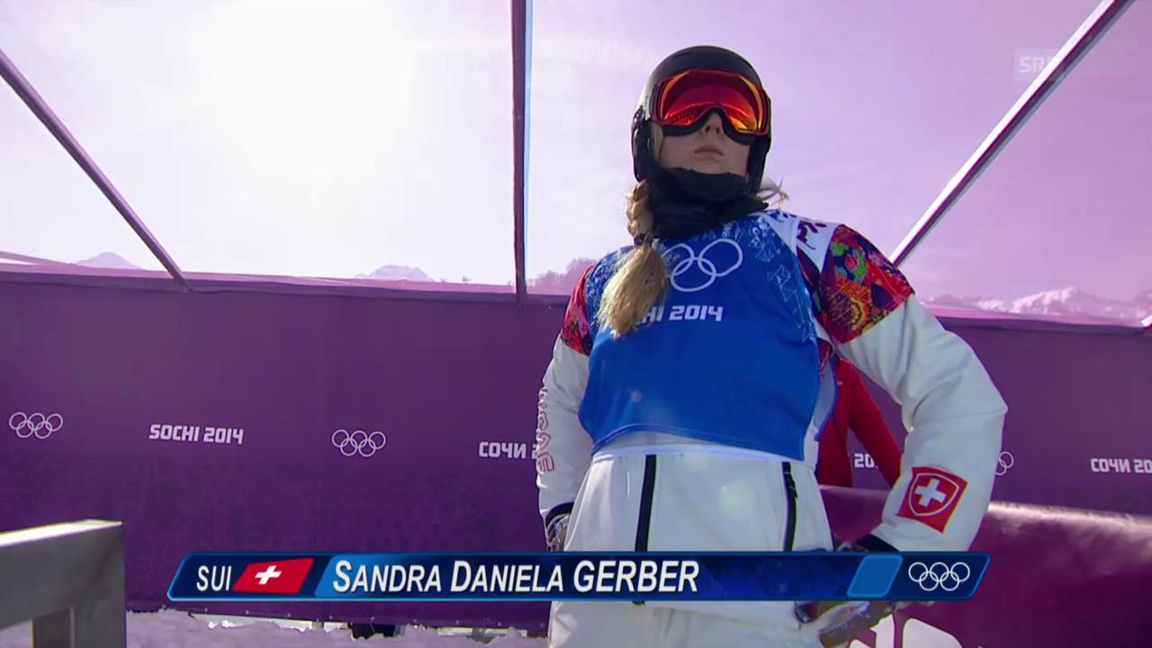 Boardercross: Viertelfinal mit Sandra Gerber (sotschi direkt, 16.02.2014)
