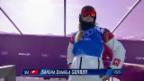 Video «Boardercross: Viertelfinal mit Sandra Gerber (sotschi direkt, 16.02.2014)» abspielen