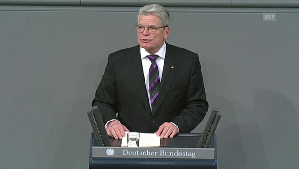 Auschwitz-Gedenkfeier Rede Gauck
