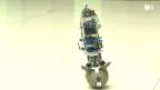 Video «Neuer Roll-Roboter mit perfektem Gleichgewicht» abspielen
