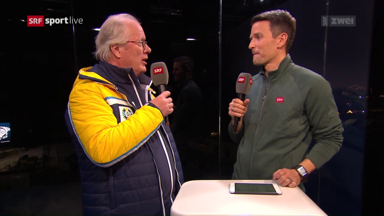 OK-Präsident Hugo Wetzel im Gespräch