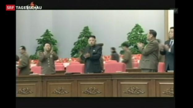 Video «Nordkorea ruft den Kriegszustand aus» abspielen
