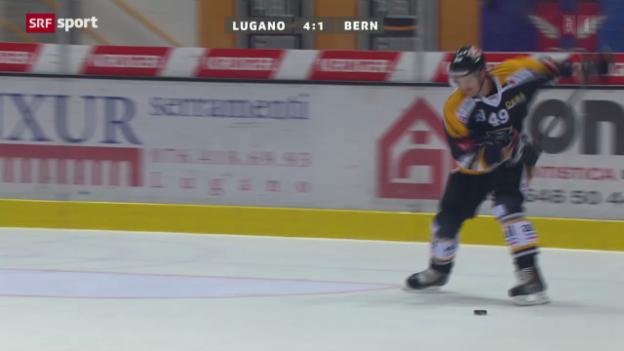 Video «NLA: Lugano-Bern» abspielen