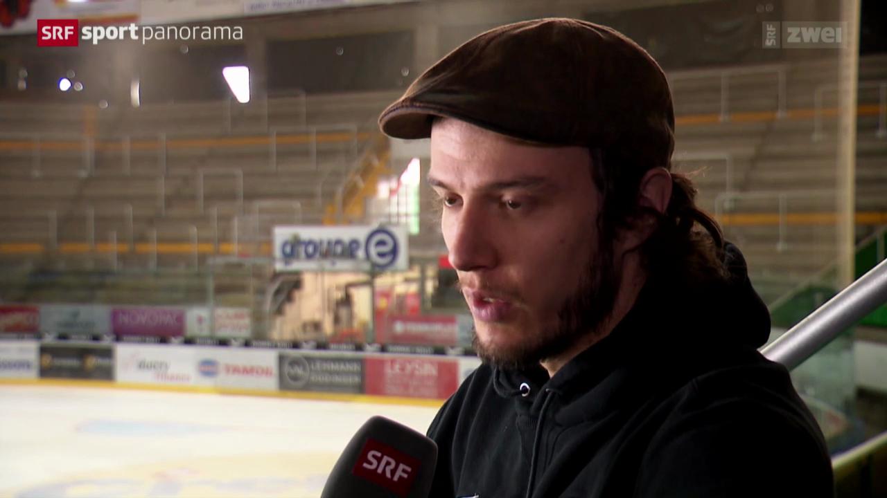 Eishockey: Julien Sprunger nach Spiel 5 im Playoff-Halbfinal
