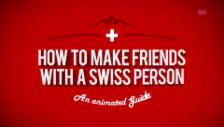 Video «Einspieler: How to make friends with a Swiss person» abspielen