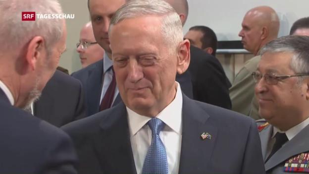 Video «USA wollen Geld für Nato-Engagement» abspielen