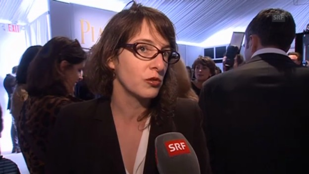 Video «Ursula Meier an den «Spirit Awards»» abspielen