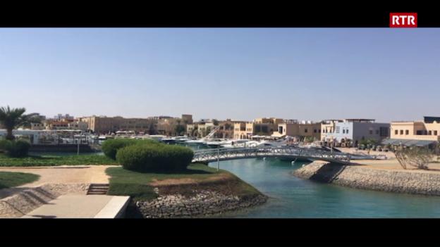 Laschar ir video «La yacht banduna El Gouna»