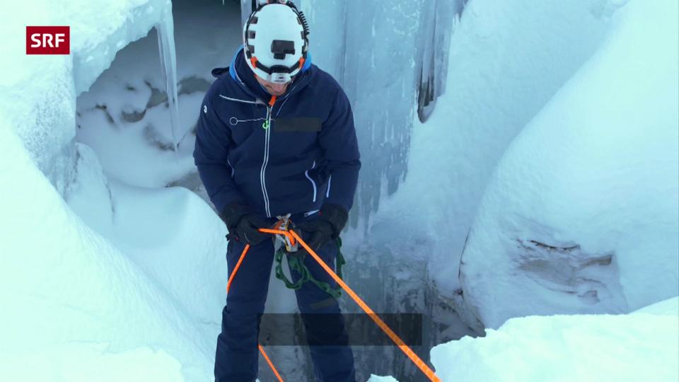 In der Gletscherhöhle
